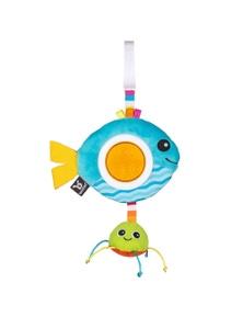Benbat Dazzle Rattle Fish Toy