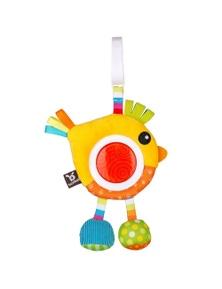 Benbat Dazzle Rattle Bird Toy