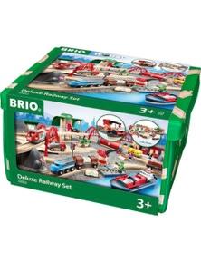 BRIO Set - Deluxe Railway Set, 87 pieces