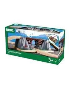 BRIO Bridge - Collapsing Bridge, 3 pieces