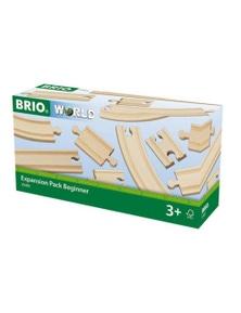 BRIO Tracks - Expansion Pack Beginner, 11 pieces