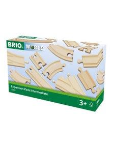BRIO Tracks - Expansion Pack Intermediate, 16 pieces