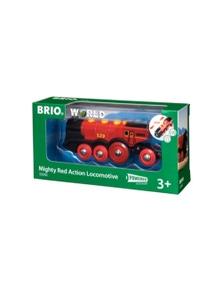 BRIO B/O - Mighty Red Action Locomotive