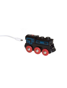 BRIO Train - Rechargeable Engine w mini USB cable
