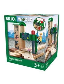 BRIO Destination - Signal Station, 2 pieces