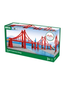 BRIO Bridge - Double Suspension Bridge, 5 pieces