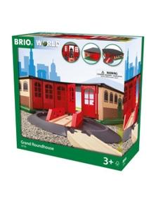 BRIO Destination - Grand Roundhouse, 2 pieces