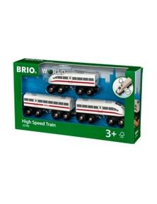 BRIO Train - High Speed Train with Sound, 3 pieces