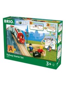 "BRIO Set - Railway Starter Set """"A"""", 26 pieces"