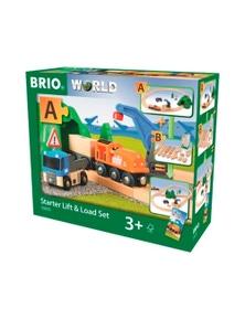 "BRIO Set - Starter Lift & Load Set """"A"""", 19 pieces"