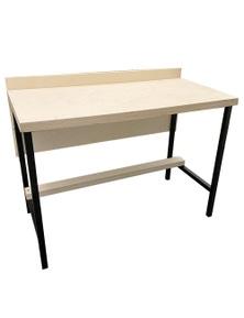 NookNorth Wooden Deskw/ Metal legs