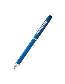 Cross Tech3+ Multi-Function Pen w/ Stylus - Metallic Bl S/B