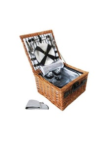 Outdoor Deluxe 2 Person Picnic Basket