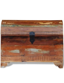 Reclaimed Storage Chest Solid Wood