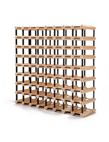 Home Ready 72 Bottle Timber Wine Rack