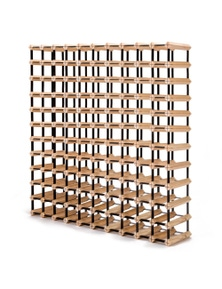 Home Ready 120 Bottle Timber Wine Rack