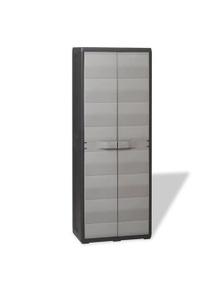 Garden Storage Cabinet With 3 Shelves