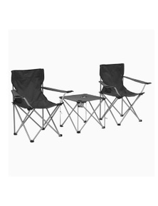 Camping Table And Chair Set 3 Pieces