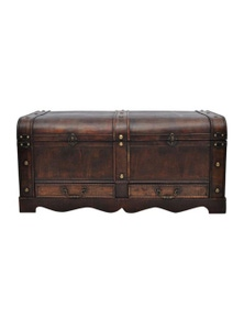 Wooden Treasure Chest Large