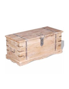 Storage Chest Solid Acacia Wood