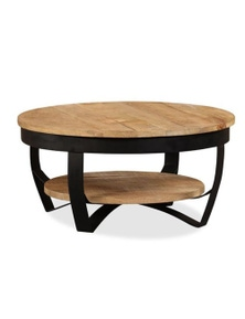 Coffee Table Solid Rough Mango Wood