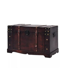Vintage Treasure Chest Wood