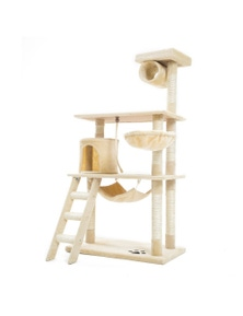 Paw Mate Cat Tree Scratcher Maple
