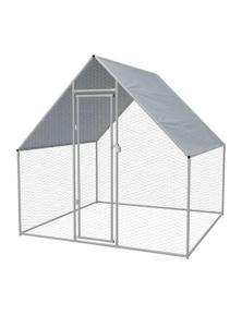 Outdoor Chicken Cage Galvanised Steel