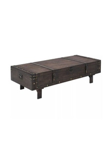 Coffee Table Solid Wood Vintage Style