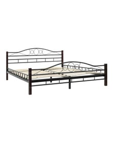 Bed Frame With Slatted Base