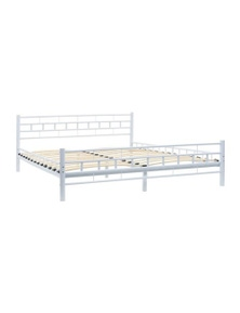 Bed Frame Slatted Base Block Design