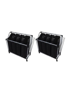 Laundry Sorters With Bags 2 Pieces