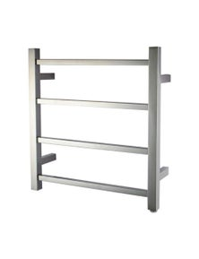 Square Electric Heated Towel Rack 4 Bars