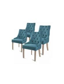 La Bella French Provincial Oak Leg Chair