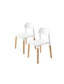 La Bella Replica Belloch Stackable Dining Chair White