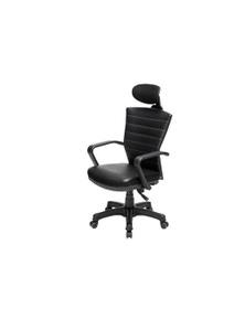 Black Korean Office Chair Cozy
