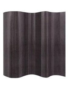 Grey Bamboo Room Divider