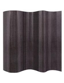 Grey Bamboo Room Divider