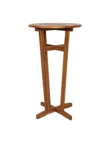 Bar Table Solid Acacia Wood
