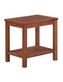 Side Table Solid Acacia Wood