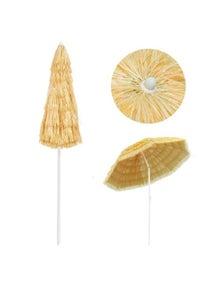 Beach Umbrella Natural Hawaii Style