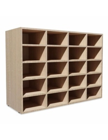 Shoe Rack Chipboard Oak