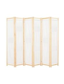 6 Panel Room Divider Fabric