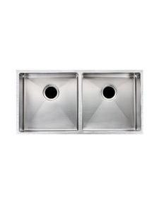 Double Bowl Top Undermount Kitchen Sink