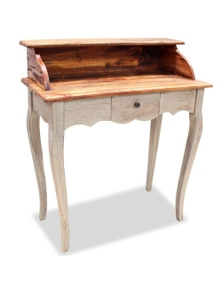 Writing Desk Solid Reclaimed Wood