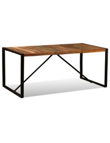 Dining Table Solid Reclaimed Wood