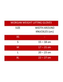 Morgan Sports V2 Platinum Weightlifting Gloves