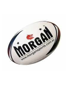 Morgan Sports Match 4 Ply Rugby League Ball