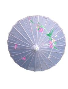 6x PARASOL UMBRELLA Chinese Japanese Bamboo Flower Pattern 80cm Large BULK New