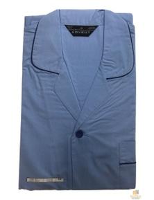 ADVENT Men's Cotton Rich Pyjamas PJs SET Long Sleeve & Leg PLUS KING PJ